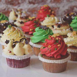 Cupcakes Christmas