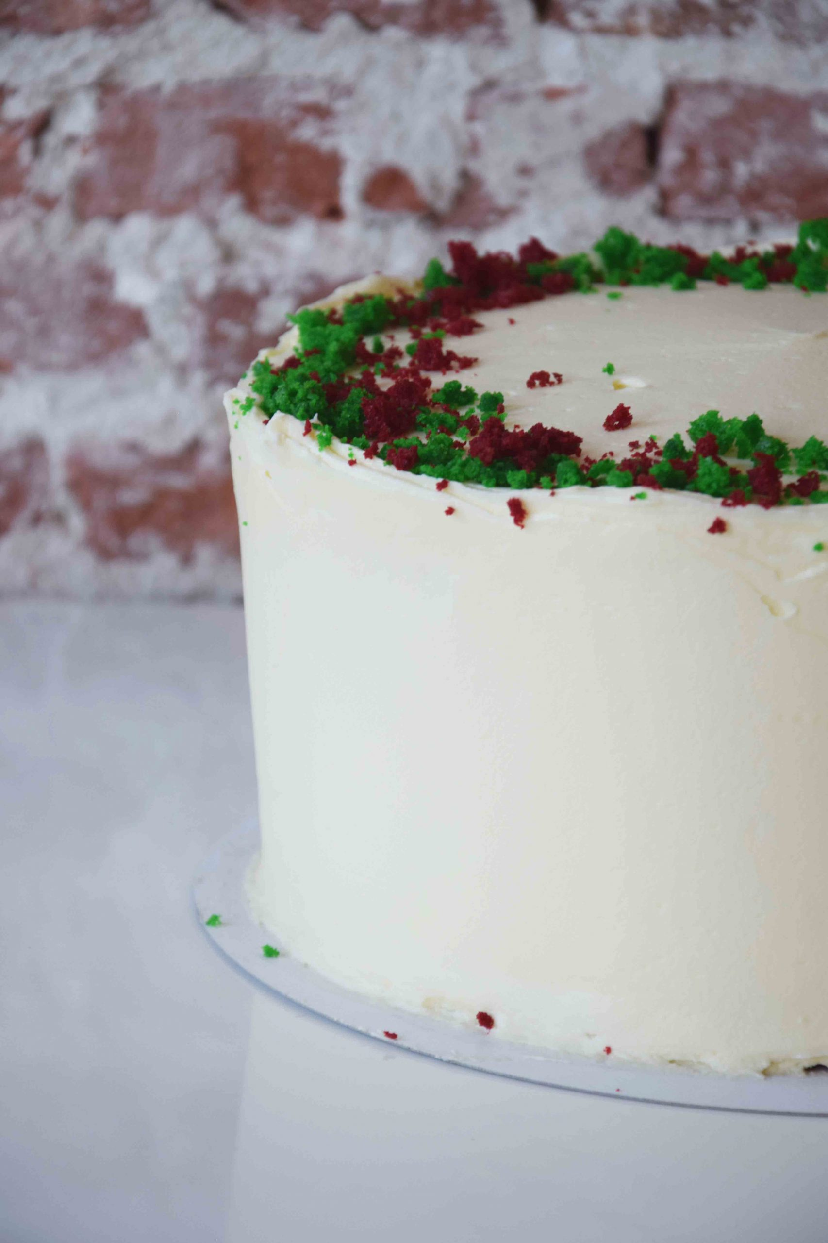 Red Velvet Cake standard decoration