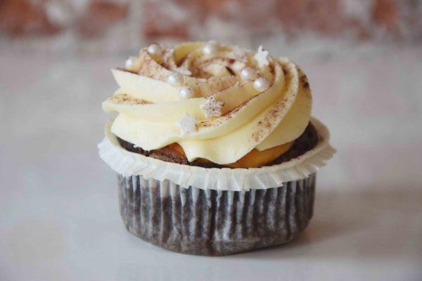 Black Bottom Cupcake