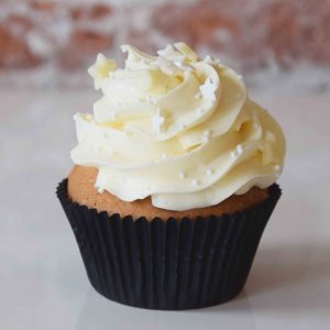 White Chocolate Cupcake