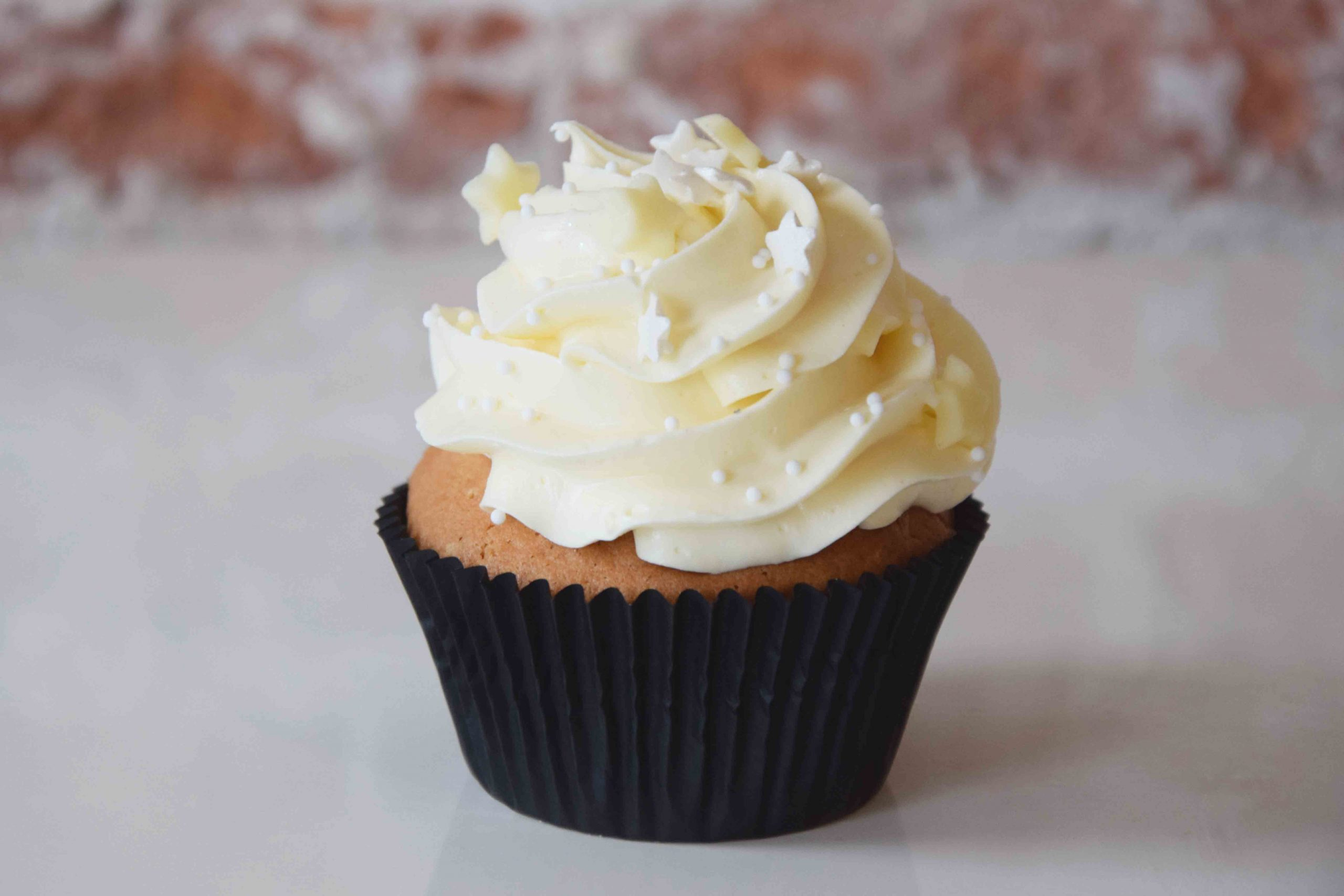White Chocolate Cupcake