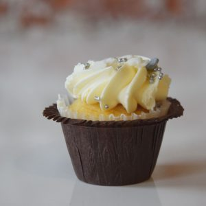 Mini Vanilla Buttercream Cupcake