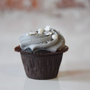 Mini Vanilla Confetti Cupcake