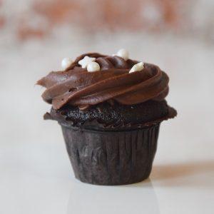 Mini Devils Food Cupcake