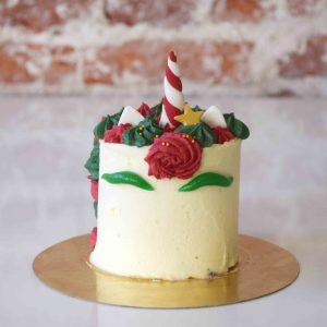 Christmas Unicorn Cake